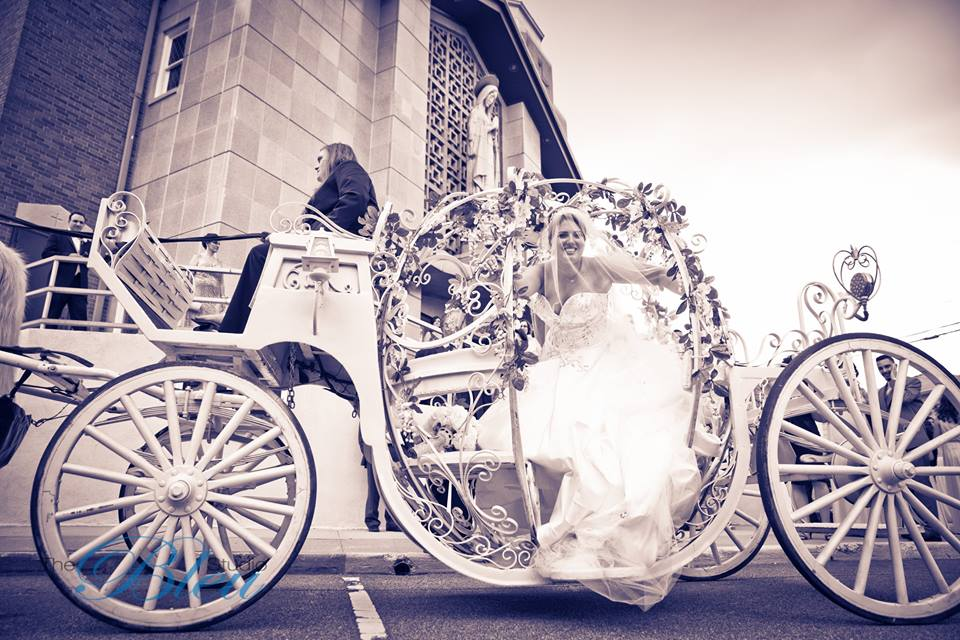 cinderella carriage wedding transportation